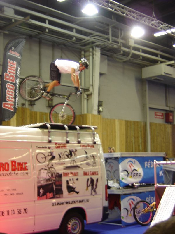"Bruno Janin ""Acrobike""____________________________Acrobike Show Trial"