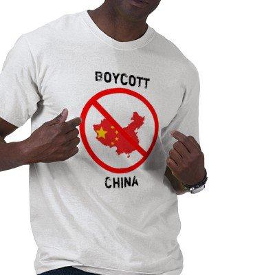 BOYCOTT LA CHINE
