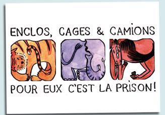 CIRQUES : LES ANIMAUX SONT MALTRAITES !!!