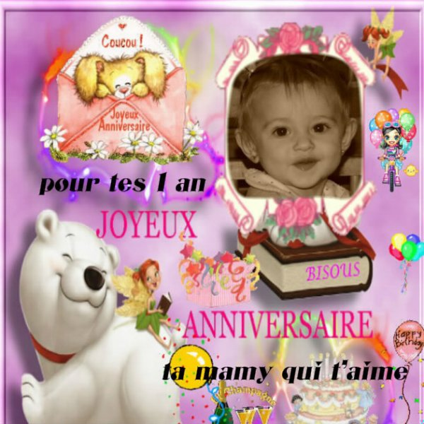 POUR MA PETITE FILLE CHARLINE