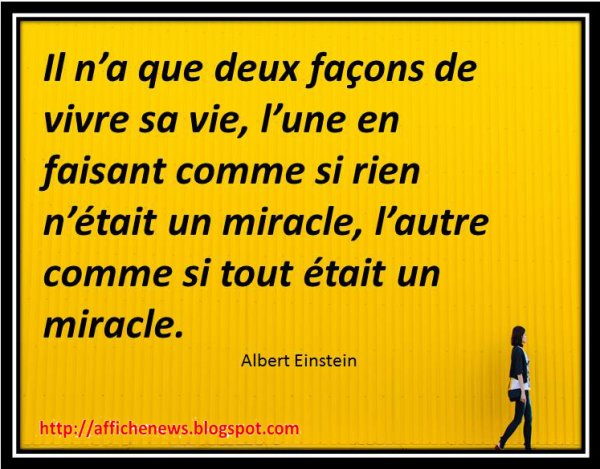 Citation 8 : albert einstein