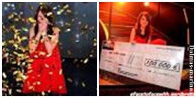 "Marina Dalmas et une jeune fille ayant gagner "" Incroyable Talent 2011 "" ♥"