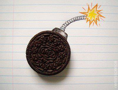 Oreo .. *-* Blow my head !
