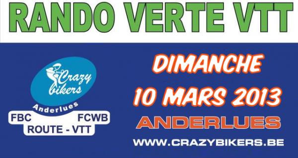 Sortie du 10 mars 2013 : La Rando Verte à Anderlues