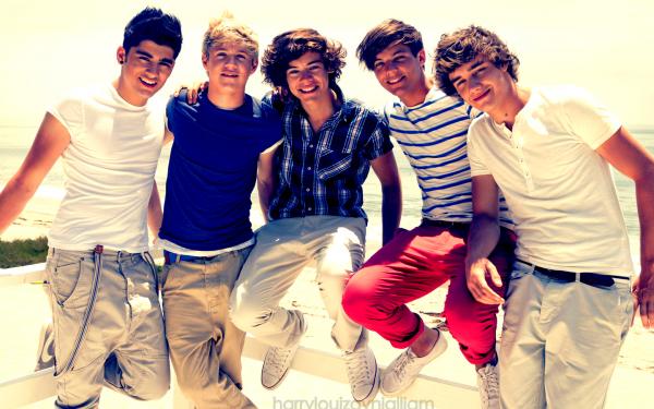 Tous le monde connait ça. Des voix qui transportent, des musiques qui te rendent malade de bonheur. Des chanteurs qui te passionnent. One Direction, un groupe juste unique. Exceptionnels. Il n'y a pas d'autre mots pour les décrire. Ce n'est pas seulement leur beautée, ce n'est pas seulement leurs magnifiques voix.. C'est leur humour, leur délire, leur sentiment, leur façon de vivre la vie au jour le jour, comme elle vient & de profitez de leur jeunesse pour s'amuser avant tout. C'est parce qu'ils sont fous et cons comme nous qu'on les aimes. Cette amour vient de la proximiter que l'on ressent envers eux. Contrairement à beaucoup de musiciens, ils se montrent sous leurs vrai jour, & c'est comme ça qu'on les aimes et les acceptent. Ouai ils font les tarés, ouai ils se sauve dans un parking juste avant un concert jusqu'à n'avoir plus que 4 minute pour se préparer entièrement. Ils crient, disent n'importe quoi,se lâchent sans honte & putin que c'est bon :') Les boys, c'est que du bonheur, de l'amour. We're Directioner & we're Family∞  Partage si t'es Directioner ♥