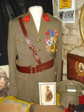 Capitaine de Ligne Belge de l'entre-deux guerres...