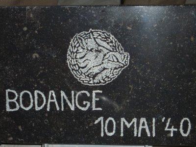 Bodange, lieu ou les Chasseurs résistèrent a Gudérian...
