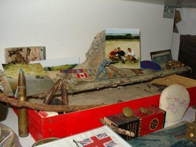 Reliques du débarquement de Normandie...