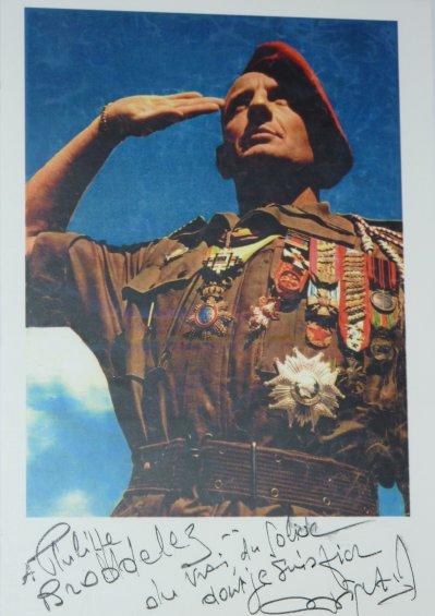 """Général Bigeard, """"Etre et Durer""""..."""