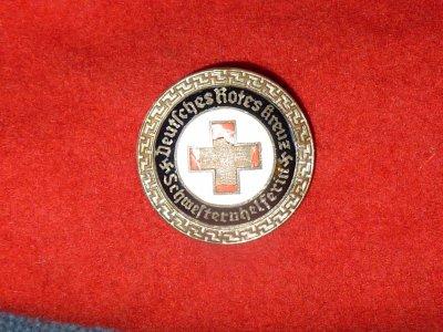 Insigne de la Croix-Rouge Allemande .