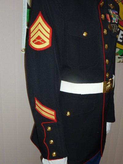 Grade : Staff Sergeant,   Ancienneté : 10 ans (5 ans par barette).