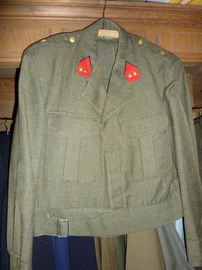 Lieutenant du Régiment de Ligne.