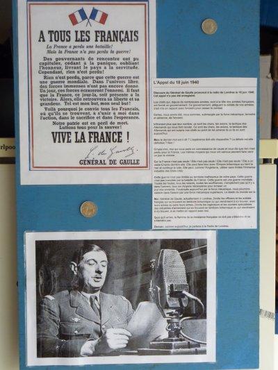 W_E Bienvenue.        Reçu au son du canon.... un 18 juin.....Anniversaire également de l'appel du 18 juin du Général de Gaulle......