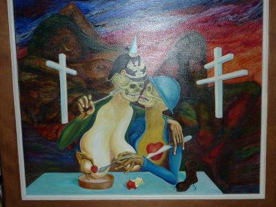 Artistes de la région , leurs visions ou approches de la guerre...........