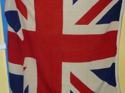 Magnifique drapeau Anglais WW II.