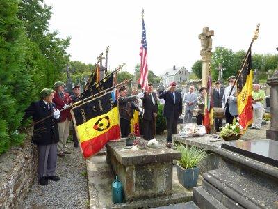 Hommage au Colonel MILITIS ce 17 septembre au cimetière de Mussy la Ville.