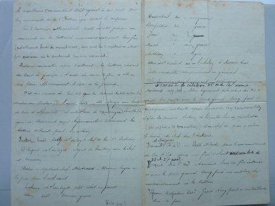 17è Régiment d'Artillerie en 1914.  Petite histoire d'un courrier et développement de celui-ci.........( Au mieux de mes trouvailles..)