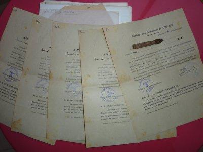 Documents relatif a l'Aérodrome Militaire de Chièvres, Réquisition dès Mai 1940 par les Alle                                                  mands.               Expropriation et dédomagements             qui ont suivis.