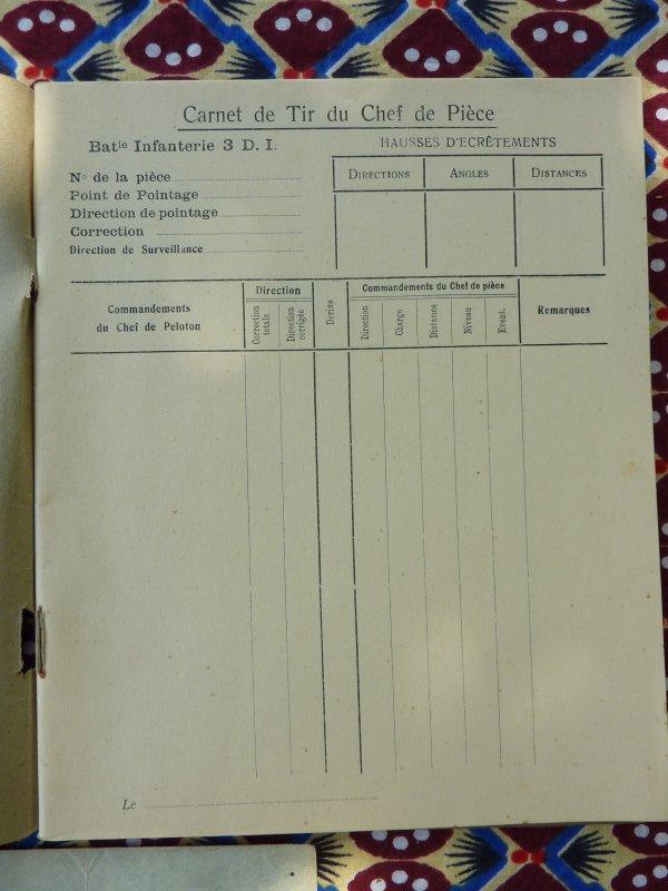 Voici une série de documents qui traitent de l'armement ainsi que de l'organisation de l'Armée Belge durant les années trentes. Documents d'officiers ainsi que sous-officier.........