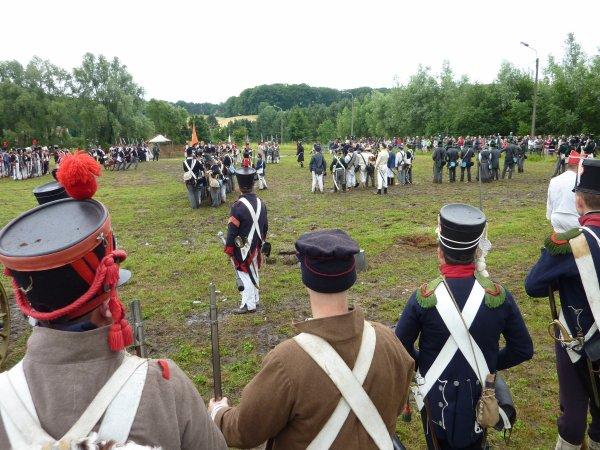 """"""" Petite promenade """" à Wavre ou il y avait une reconstitution de la """" Bataille oubliée """" de 1815..."""