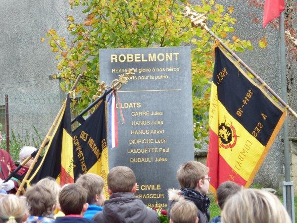 11 Novembre 2014 à Robelmont.