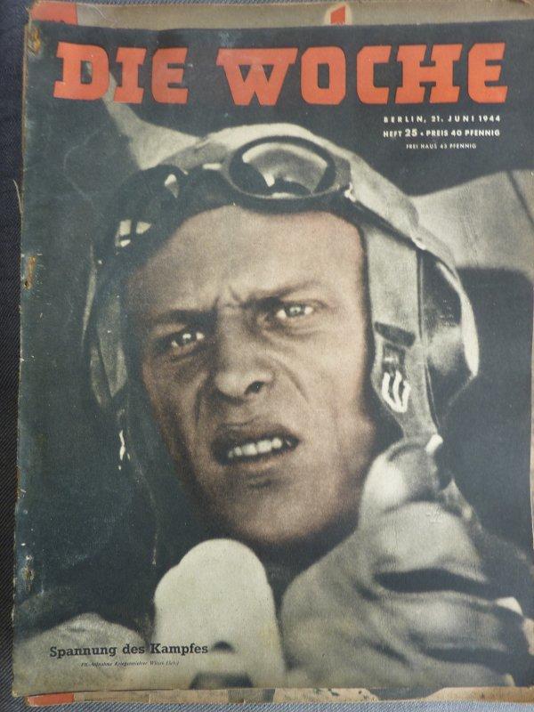 Rentrées de quelques magazines Allemand de guerre.