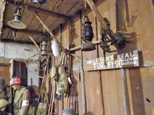 Musée Militaire de Diekirch (Lux.) 28è Rég. Inf .Américain.