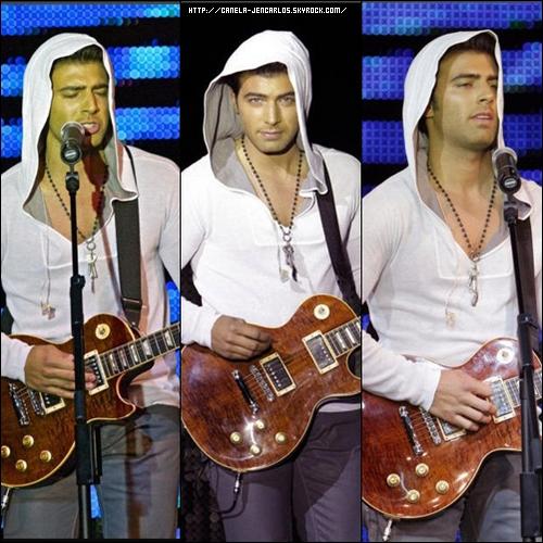 21/04/11 - Jencarlos Canela a donné un concert à Miami le jour de son anniversaire.