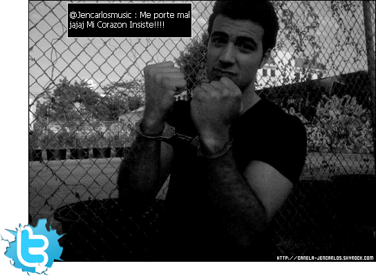 14/04/11 - Photo de tournage postée par Jencarlos Canela sur Twitter.