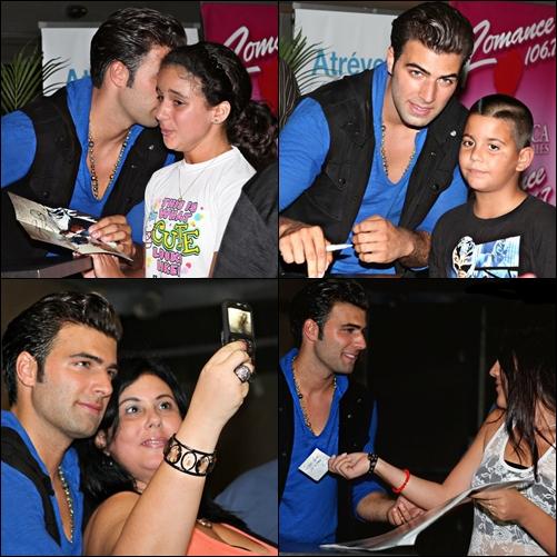 26/06/11 - Tous les fans de JC réunis à Puerto Rico pour la promotion de son second album.