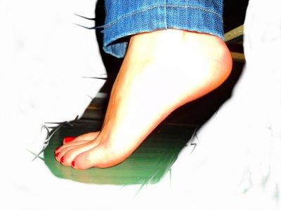 Photo 1 - Mes Pieds ( Vue Profil )