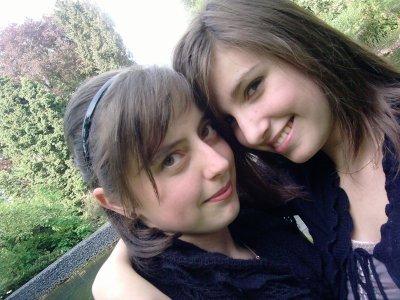 Lucie et moi :)
