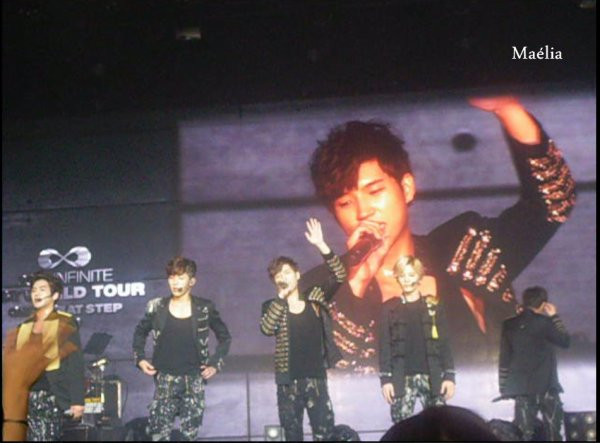 INFINITE ONE GREAT STEP IN PARIS 01.12.2013