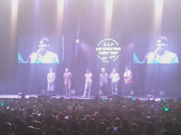 B.A.P Party Baby World Tour 2017 ~ Paris Boom (03.05.2017)