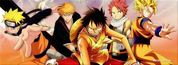 Naruto ichigo natsu luffy et son goku blog de steph 591 - Dbz et one piece ...