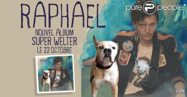 Raphaël, image du clip Manager qu'il a lui-même réalisé, premier extrait de son album...
