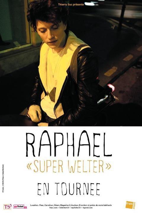 RAPHAEL en tournée