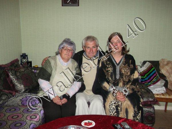 Mes deux soeurs Régine et Virginie et moi