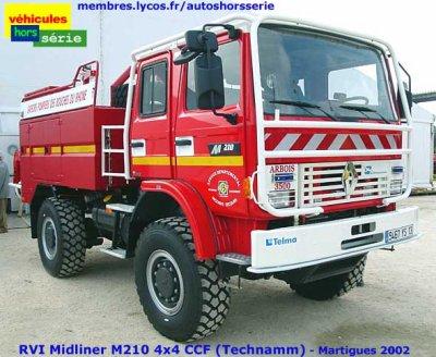CCF (Camion Citerne Feu de foret)