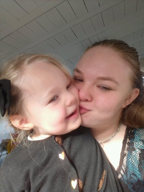 L'amour d'une maman a son enfant