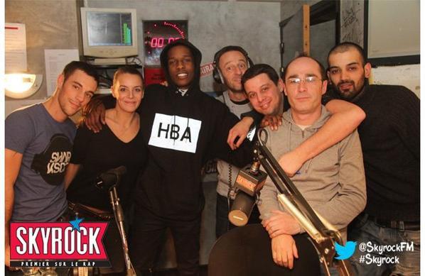 Asap Rocky dans la Radio Libre