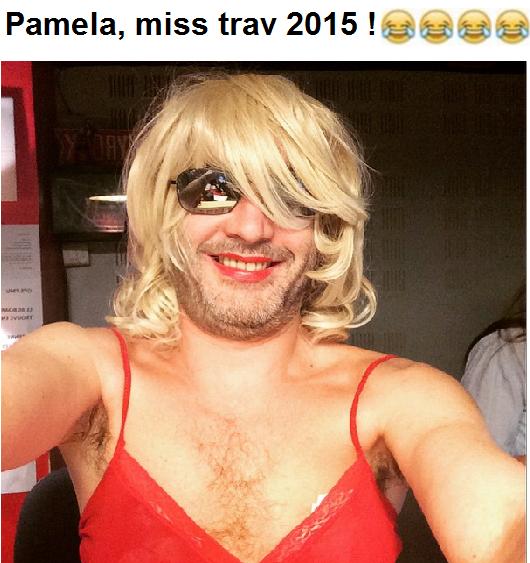 Pamela est de sortie