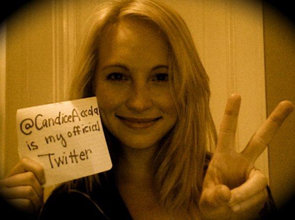 Candice Accola !  And Ian Somerhalder Best Friend ?! ♥