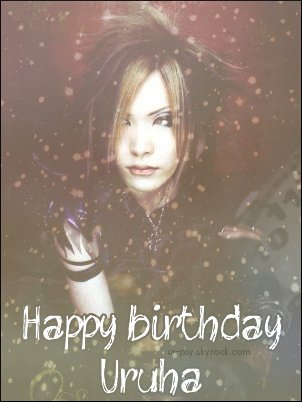 Happy Birthday Ruwa ! (๑'◡'๑)