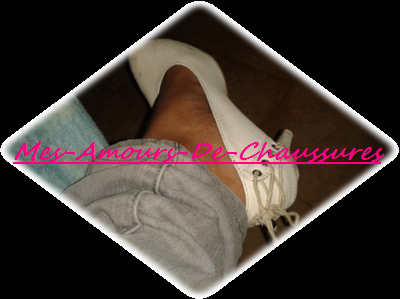 Escarpins Blanc