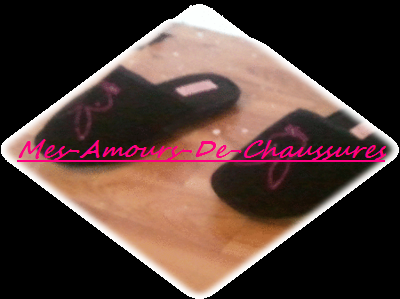 Chaussons Play Boy