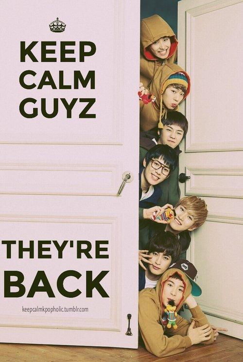 BLOCK B IS (DAE)BACK !!