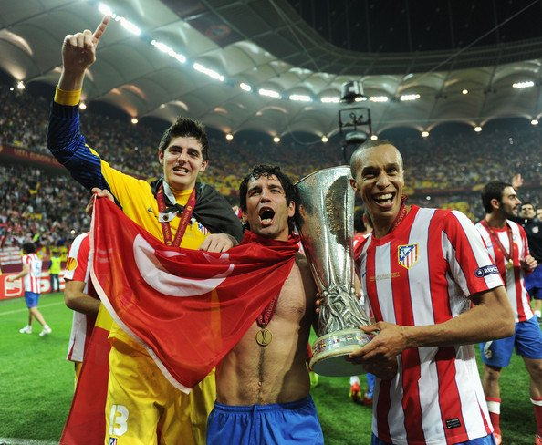 Atletico Madrid v Athletic Bilbao - UEFA Europa League Final (Thibault Courtois)