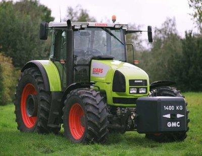 Un tracteur Claas :