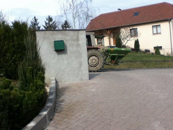 Chantier agricole derrière chez moi